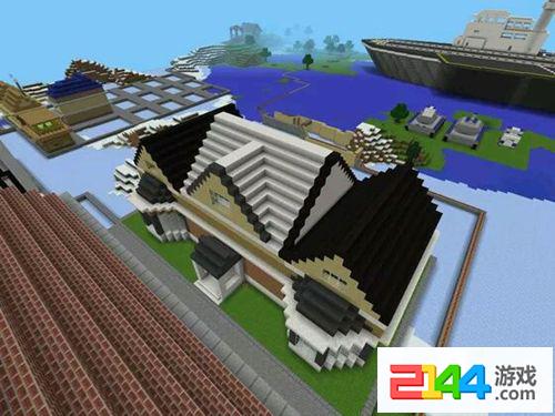 《迷你世界》建筑教程 教你建造一个有点复杂的小房子